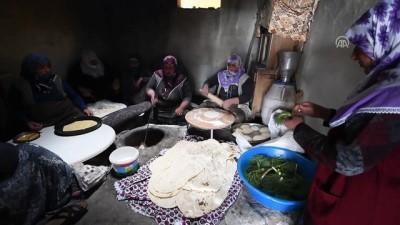 İmece usulü hazırlanan lezzetler ramazan sofralarını süslüyor - KARS