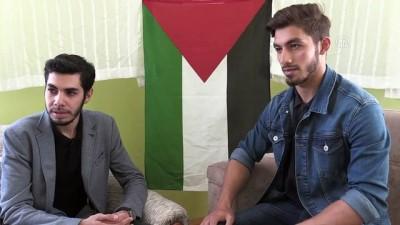 İsrail'in katliamı Gazzeli Süleyman'ı yasa boğdu - KONYA