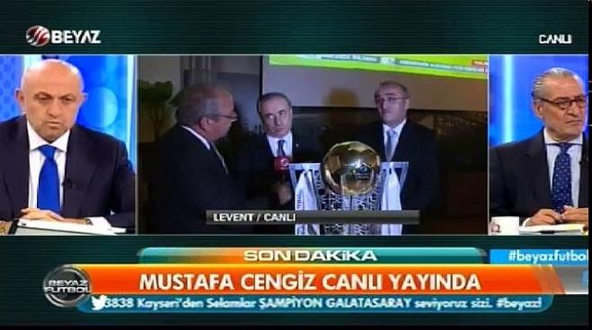 beyaz futbol - Mustafa Cengiz Beyaz Futbol'a konuştu