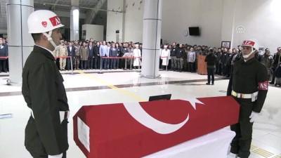Şehit askerler için tören düzenlendi - AĞRI