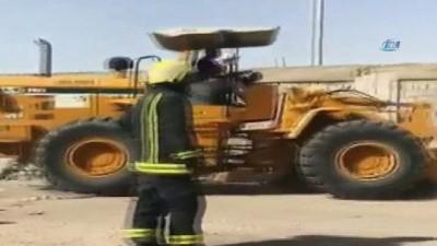 - Suudi Arabistan ve BAE sınırında korkutan yangın