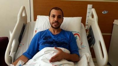 Trafik magandası doktoru hastanelik etti