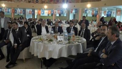 Bakan Eroğlu, Nevşehir'de partisinin 'vefa iftarı'na katıldı