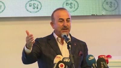 Bakanlar Çavuşoğlu ve Eroğlu, DSİ tesisleri toplu temel atma ve açılış törenine katıldı - ANTALYA
