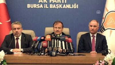 Başbakan Yardımcısı Çavuşoğlu: 'Siyasi istikrar taçlandırılmış olacak'  - BURSA