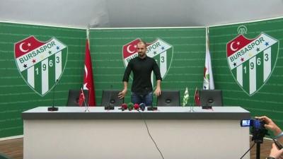 Bursaspor Teknik Direktörü Er:'Ligi arzu etmediğimiz bir yerde bitirdik' - BURSA