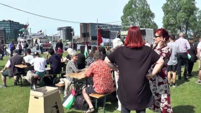Danimarka'da 'Gazze'de ablukayı kaldırın' etkinliği - KOPENHAG