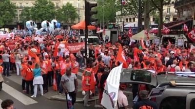 Fransa'da memurlar üçüncü kez genel grevde - PARİS