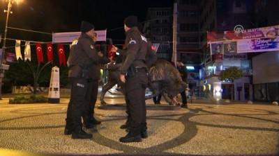 'Gece Kartalları' sahuru görev başında yapıyor - İSTANBUL