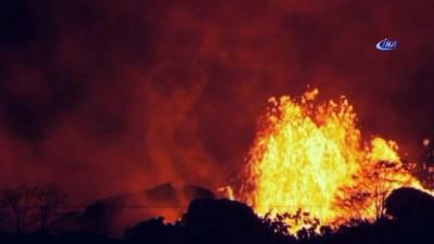 - Hawaii Kilauea Yanardağı 20 Gündür Alev Püskürtüyor Haberi