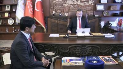 Japon Büyükelçi Miyajima, Belediye Başkanı Seçen ile görüştü - NEVŞEHİR
