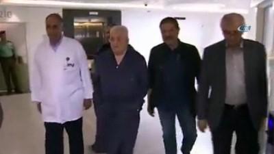 - Mahmut Abbas, hastanede görüntülendi Haberi