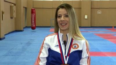 Milli karateci hedef büyüttü - İSTANBUL