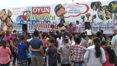 Şanlıurfa'da çocuklar 'Oyun Karavanı'nda eğlendi