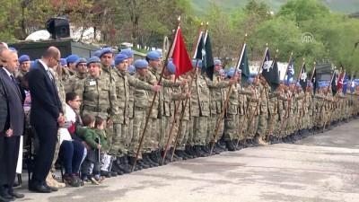 teror saldirisi - Şehitler için tören düzenlendi - HAKKARİ