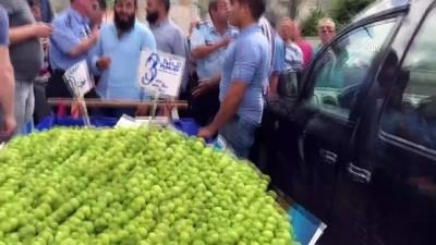 Seyyar satıcı-zabıta tartışmasını polis yatıştırdı - EDİRNE