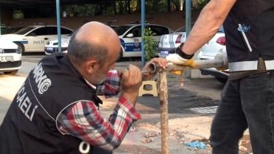 Tırda yüklü demir inşaat iskelelerinden eroin çıktı
