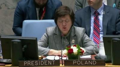 BM Güvenlik Konseyi, Filistin gündemiyle toplandı - NEW YORK