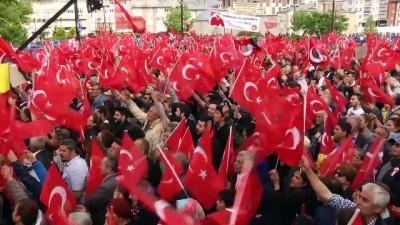 CHP'nin cumhurbaşkanı adayı İnce, Sivas'ta