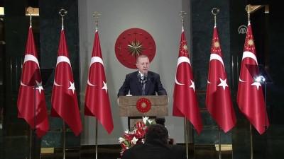 Cumhurbaşkanı Erdoğan: '24 Haziran seçimleri diğer seçimlerden çok daha farklı bir öneme sahiptir' - ANKARA