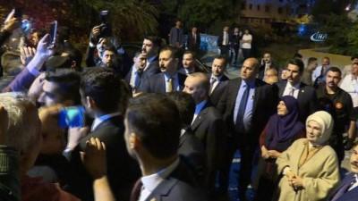 Cumhurbaşkanı Erdoğan, iftarını Sargın ailesinin evinde yaptı