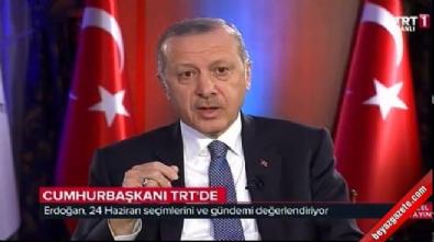 Cumhurbaşkanı Erdoğan: Millet bahçeleri yapılacak