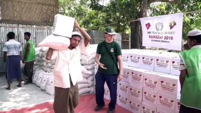 İHH'dan Myanmar'daki Müslümanlara ramazan yardımı - ARAKAN