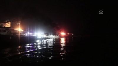 İsrail, Gazze limanındaki bir tekneyi vurdu - GAZZE