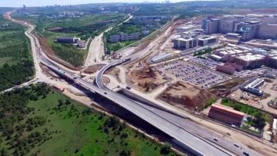 ODTÜ Teknokent yol projesinde adım adım sona geliniyor