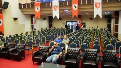Samsunspor olağanüstü kongresi ertelendi