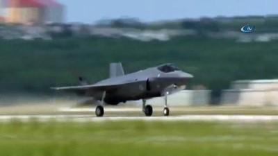 - Türk F-35 Uçağı İlk Uçuşunu Yaptı