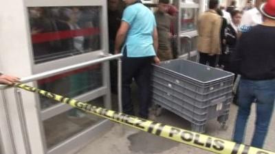 Ümraniye'de hastane önünde öldürülen çiftin cenazesi Adli Tıp'tan alındı