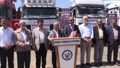 Afrin'e insani yardım - ŞANLIURFA
