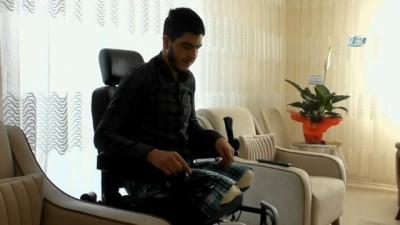 yardim kampanyasi -  Afrin gazisine anlamlı destek