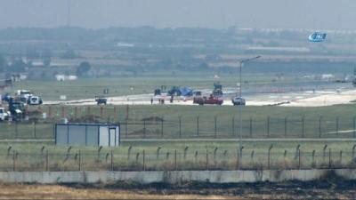 Bakım-onarım çalışması nedeniyle İncirlik Üssü uçuş trafiğine kapatıldı
