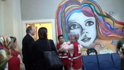 Büyükelçi Berger'den Kızılay Toplum Merkezine ziyaret