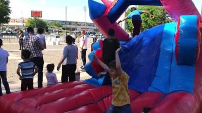 Çocuklar 'Oyun Karavanı' ile buluştu - GAZİANTEP