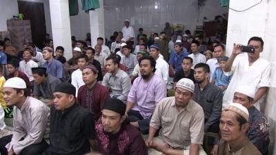 Filistinli imamlar Endonezyalılara 'zulmü' anlatıyor - CAKARTA
