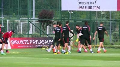 A Milli Futbol Takımı, hazırlıklarını sürdürdü - İSTANBUL