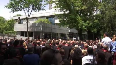 Ankara Barosundan HSK önünde açıklama - ANKARA