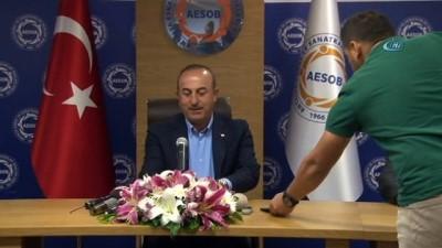 Dışişleri Bakanı Çavuşoğlu: 'Türkiye döviz kuru oyunlarıyla yıkılacak bir ülke değil'