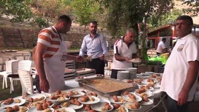 Fırat'ın kıyısında iftar keyfi - ŞANLIURFA