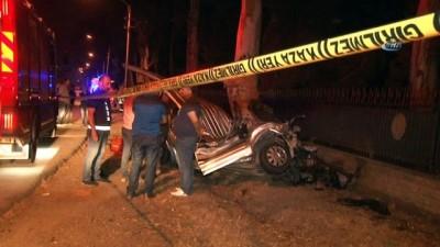 Kontrolden çıkan araç iki bisiklet sürücüsüne çarptı: 2 ölü, 1 yaralı