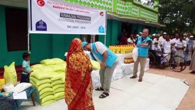 zekat - TDV Sri Lanka'da 5 bin gıda paketi dağıttı - KANDY