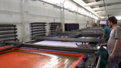 Tekstil tezgahlarında 'seçim' yoğunluğu - DENİZLİ
