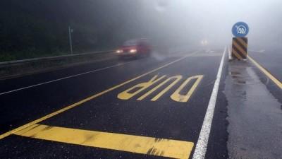 Yoğun sis ulaşımı aksatıyor - DÜZCE