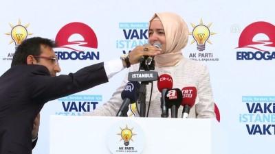 AK Parti İstanbul 2. Bölge Seçim koordinasyon merkezi açılışı - Bakan Kaya (1) - İSTANBUL