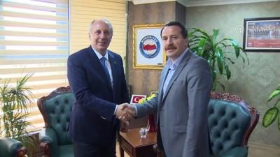 CHP'nin cumhurbaşkanı adayı İnce: 'Eski Türkiye'den memnun değiliz. Yeni Türkiye'den de memnun değiliz' - ANKARA