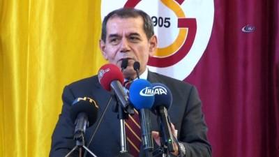 Galatasaray'da başkan adayları son konuşmalarını yaptı
