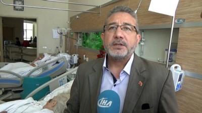 Hastanede uygulanan 'Manevi Destek' projesi hasta ile yakınlarını memnun ediyor
